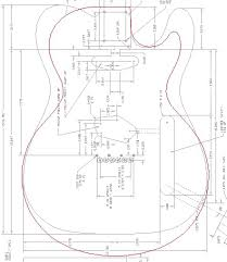 printable guitar template pdf page 3 telecaster guitar forum