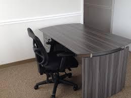 Used Office Furniture Nashville by Mayline Medina Desk With Single Pedestal And Alera Task Chair
