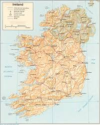 Where Is Belgium On The Map Of Europe by Maps Of Ireland Detailed Map Of Ireland In English Tourist Map