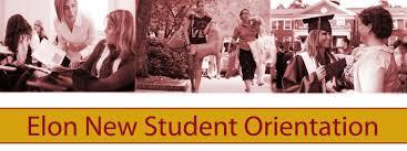 new student orientation elon families