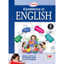 prachi english grammar excellence in english for class 5