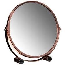 copper bathroom mirrors native trails cpm90 copper tuscany round bathroom mirror copper