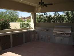 Outdoor Kitchen Backsplash Ideas Breathtaking Small Outdoor Kitchens Patio With Subway Tile