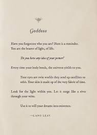 poem contest goddess quote prompt lang leav everyone welcome
