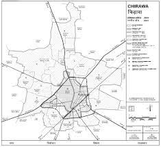 Jaipur India Map by Chirawa Urban Area Map 2031 Pdf Download Master Plans India