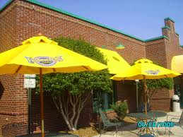 Patio Umbrella Stand Walmart by Exterior Design Appealing Yellow Swing Walmart Umbrella For