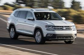 volkswagen atlas white 2018 volkswagen atlas v 6 first test review party motor