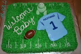 football baby shower football baby shower cake cake by dixon cakesdecor