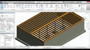 autodesk revit joist girder lally columns and footings youtube