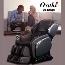 Osaki Os 4000 Massage Chair Review Osaki Os 4000 Ls Zero Gravity Massage Chair Black Brown Or Ivory