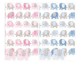 baby gift wrap elephant design baby gift wrap birth or christening boy or