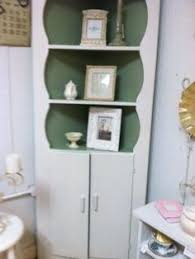 Shabby Chic Corner Cabinet by Antique Corner Cabinet Things For The House Pinterest