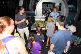 science wows families at community day nasa
