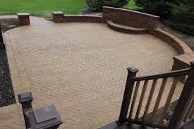 Brick Paver Patio Installation Ann Arbor Landscape Design Landscape Installation Retaining Wall