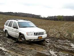 1999 jeep grand cherokee mudding youtube