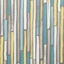 Home Decor Fabrics Modern Turquoise And Grey Upholstery Fabric Aqua Yellow
