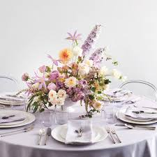 table top flower arrangements how to diy plaster dipped vessel centerpieces martha stewart