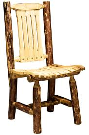 Yellow Patio Chairs by Pine Log Outdoor Furniture
