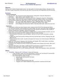 Agile Testing Resume Sample by Agile Scrum Testing Resume Sample Qa Tester Resume Qa Tester