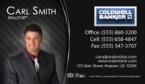 Realtor Business Card Template Coldwell Banker Business Cards 1000 Business Cards 49 99 No
