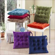 kitchen room awesome velvet chair cushions with ties yellow