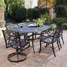 Target Patio Dining Set - meadow decor kingston 7 piece round patio dining set pacifica 7