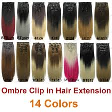Make Clip In Hair Extensions by Clip On Extension Hair Picture More Detailed Picture About 2015