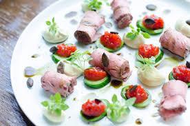 Restaurant Esszimmer Salzburg Gault Millau Roastbeef Mit Kernöl Whip Und Tomatenmarmelade Essen Lieben