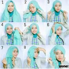 tutorial hijab segitiga paris simple akun 07 google