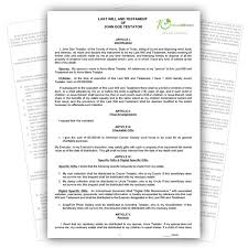 Template Wills by Wills Advance Directive Houston Dallas