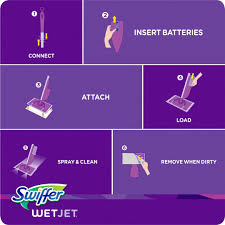 swiffer wetjet hardwood floor spray mop starter kit pc next idolza