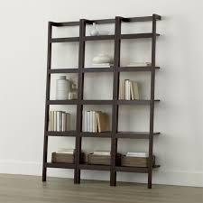 Ballard Bookcase Sawyer Mocha Leaning 18
