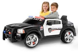 toy police cars with working lights and sirens for sale dodge police car kid trax toys