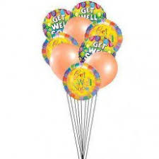 get well soon balloons delivery get well balloon bouquets delivery send get well soon balloons