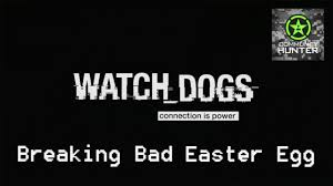 Watch Breaking Bad Watch Dogs Breaking Bad Easter Egg Youtube