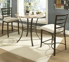table and 2 chairs set buy ellen 3pc counter round table 2 height chairs set by steve