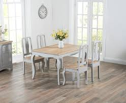 Buy The Parisian Cm Grey Shabby Chic Dining Table With Chairs - Shabby chic dining room set