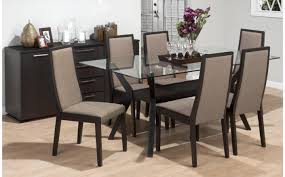 table round glass dining table for 6 unbelievable round glass