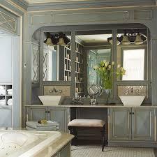 get the look double bathroom sink vanities artisan crafted iron