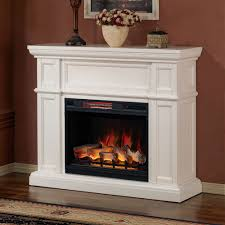 artesian white infrared electric fireplace mantel 28wm426 t401