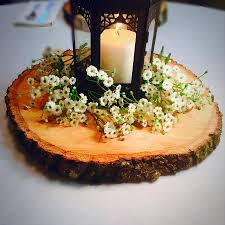 rustic center pieces 9 slices large wood slices wood slabs wood centerpieces wood