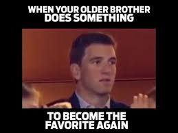 Peyton Superbowl Meme - why do we assume the worst intellectual takeout