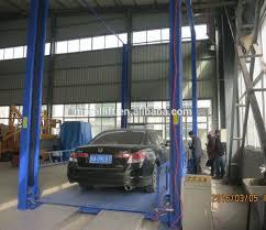 Basement Car Lift Guide Rail Chain Elevator Freight Vertical Cargo Lift For