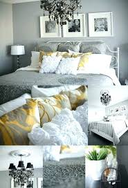 gray bedroom decorating ideas yellow and gray bedroom decor medium size of and white bedroom gray