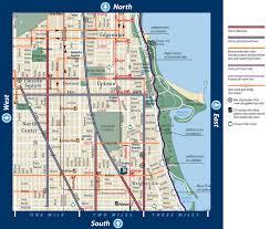 Divvy Bike Map Bike Map Chicago Chicago Map