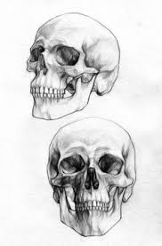 bones dip pen and ink amina khan character design