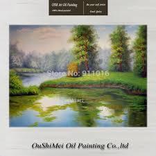 aliexpress com buy high quality handmade spring landscape