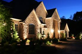 Landscape Up Lights Outdoor Security Landscape Lighting Installation Bonney