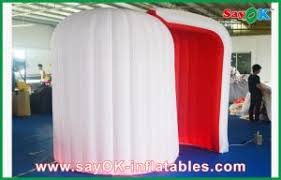 Inflatable Photo Booth Durable White Inflatable Photobooth Lighting Blow Up Photo Booth
