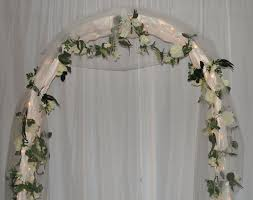 wedding arches decorated with tulle 33 best arches images on marriage and wedding